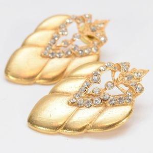 Lovely Gold Tone Earrings